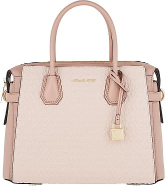 Michael Kors Tote - Mercer Belted MD Satchel Bag Softpink Fawn - rose - Tote for ladies