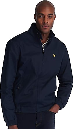 Lyle & Scott Mens Harrington Jacket, Blue (Dark Navy Z271), Medium (Size:M)