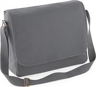 BagBase Bagbase Classic Shoulder Strap Canvas Messenger Bag (One Size) (Graphite Grey)