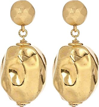 Oscar De La Renta Brass earrings