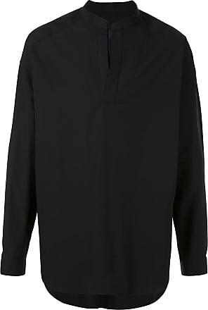 Juun.J v-neck shirt - Preto