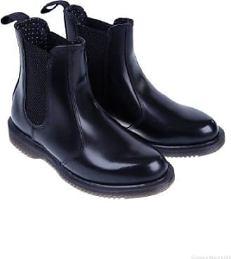 fcd72c854f47c4 Dr. Martens Kensington Flora Ladies Chelsea Boot Black Polished Smooth UK9  EU43 US11