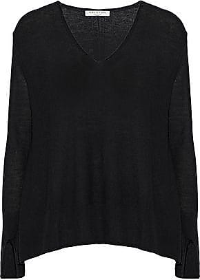 63ac24a0846 Halston Heritage Halston Heritage Woman Stretch-knit Sweater Black Size XS