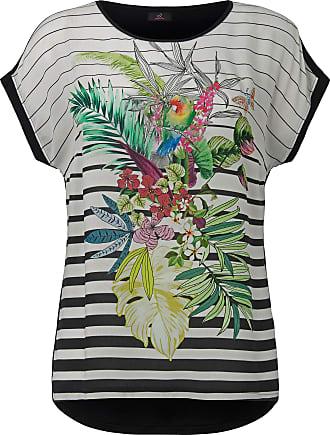 95481e8534c21 Emilia Lay Shirt-Bluse überschnittener Schulter Emilia Lay weiss