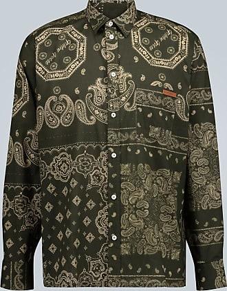 Golden Goose Houston bandana printed shirt