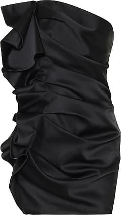 Alexandre Vauthier Strapless satin minidress