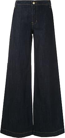 Alcaçuz Calça jeans pantalona Jarra - Azul