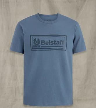 Belstaff Belstaff FRAME LOGO GRAPHIC T-SHIRT Blue