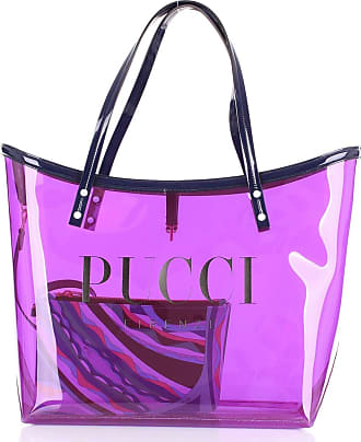 Emilio Pucci Shopping bags Blue and purple