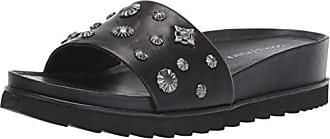 Donald J Pliner Womens CAILO-01 Slide Sandal Black 7.5 B US