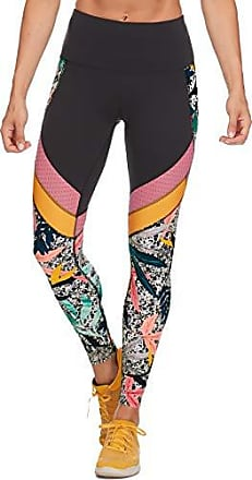 Body Glove Active Womens Gemini Performance FIT Activewear Legging Pant, Firestone Black, Small