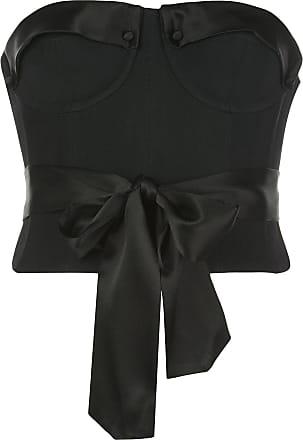 Kiki De Montparnasse strapless corset top - Black
