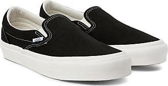 Vans Og Classic Lx Canvas Slip-on Sneakers - Black