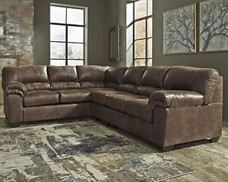 Ashley Furniture Bladen 3-Piece Sectional, Coffee