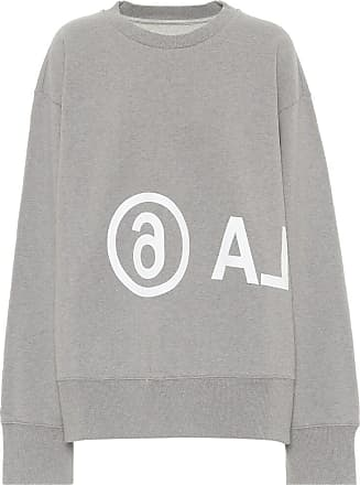 Maison Margiela Logo cotton-jersey sweatshirt