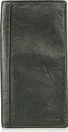 Fossil Mens Execufold Wallet, Neel- Black, One Size
