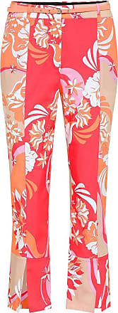 Emilio Pucci Cropped stretch-cotton pants