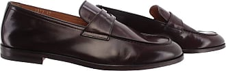 Doucal's Mens Loafers Polo Africa Moro Brown Leather