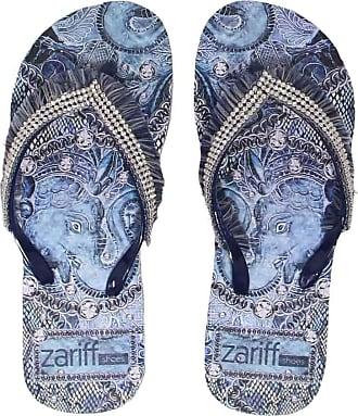 Zariff Chinelo Zariff Shoes Plataforma Strass