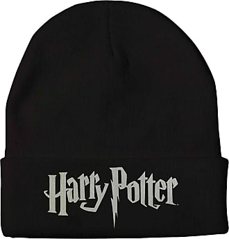 Harry Potter Beanie Hat Classic Logo Official Black One Size