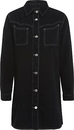 Ganni Denim Shirt Dress