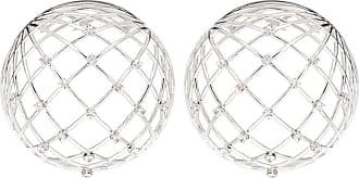 Y / Project Globe crystal-embellished earrings