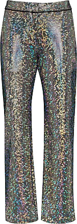Kirin Calça de alfaiataria com estampa mosaico - Prateado