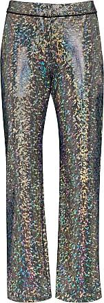 Kirin mosaic-print suit trousers - SILVER