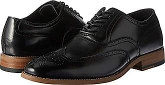 Stacy Adams Dunbar Wingtip Oxford (Black) Mens Shoes