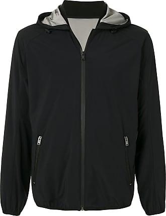 Kent & Curwen lightweight hooded jacket - Black