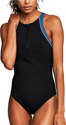 Figleaves Womens Freestyle High Neck Swimsuit Size 10 in Black