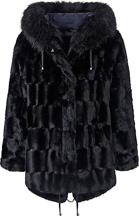 Basler Faux fur jacket Basler blue