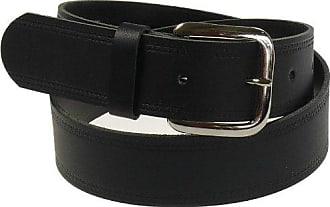 weisser Gürtel in 4cm Breite von 85-135 cm Bundweite Ledergürtel