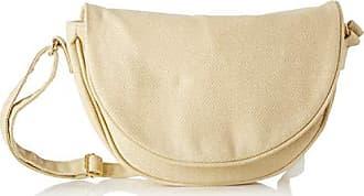 498370e948 Bensimon femme Half Moon Bag Sac bandouliere Ecru (NATUREL)