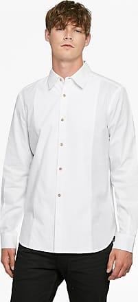 French Connection Oxford Corduroy Formal Bib Shirt