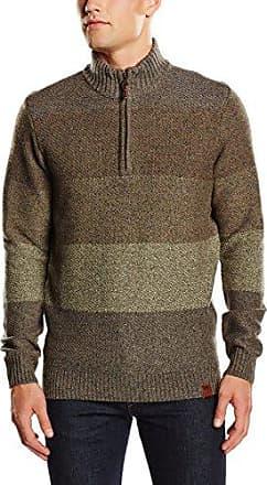 camel active Troyer Herren Pullover Dark Brown | Fruugo