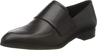Vagabond Womens Frances Leather Slip On Loafer Black UK 5.5