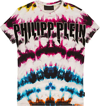 Philipp Plein T-shirt With Logo Mens Multicolour