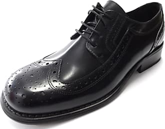Ikon Mens Retro Krombie Brogues Shoes (8, black)