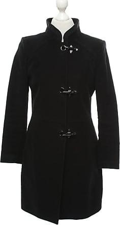 damen mantel schwarz tailliert