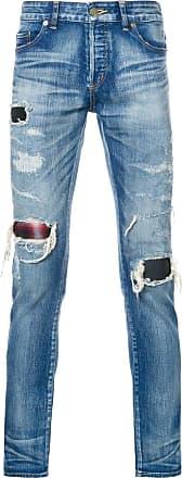 Hl Heddie Lovu distressed skinny jeans - Blue