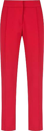 OLYMPIAH Calça Wave com bolsos - Vermelho