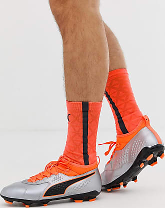 Puma ONE 3 leather soccer boots - Orange