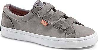 Keds Womens Tiebreak Nylon/Suede Wx Fashion Sneaker,Gray,10 M US