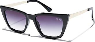 Quay Australia Dont @ Me Womens Sunglasses One Size Black/Fade