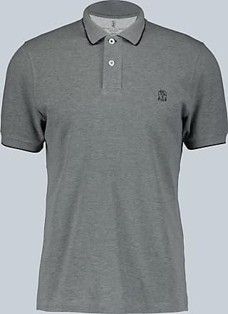 Brunello Cucinelli Slim-Fit-Poloshirt aus Baumwolle