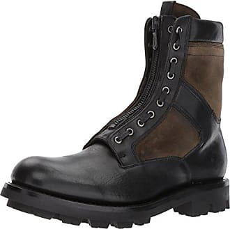 Frye Mens Jump Combat Boot, Black/Multi, 9 D US