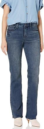 NYDJ Womens Petite Size Barbara Bootcut Jeans, Lombard, 0