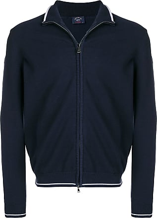 Paul & Shark slim-fit zip-up jacket - Azul