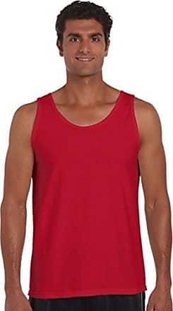 2er Pack Gildan Herren Deluxe Softstyle Fitness Tank Top Träger Shirt 64200 NEU